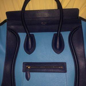 Céline Paris Micro Luggage Tote Bag